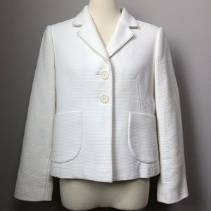 Banana Republic white blazer LP